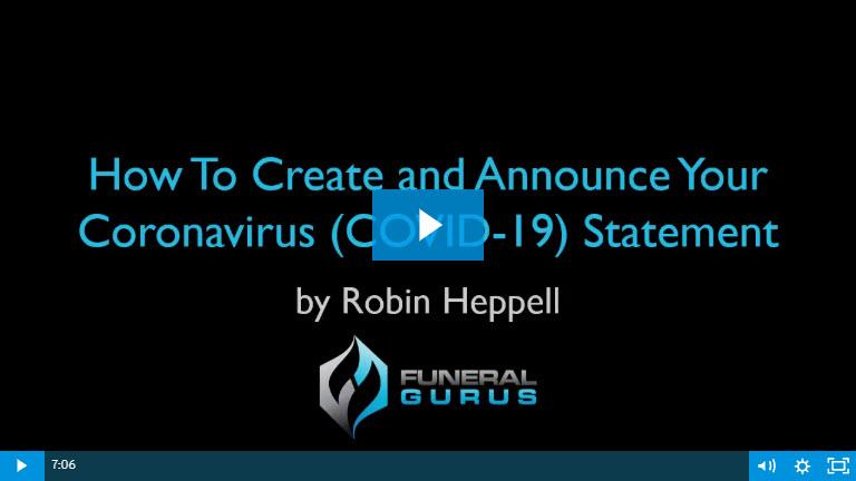 Video How Create  & Announce Your Coronavisus Status